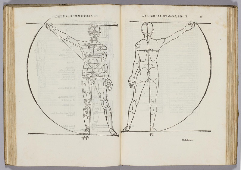 Della simmetria de i corpi humani, libri quattro