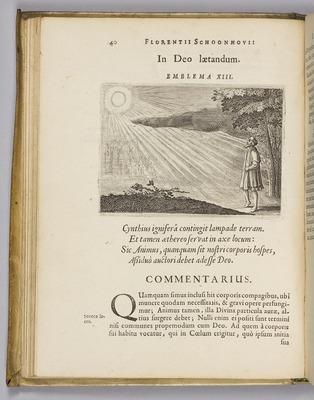 Emblemata Florentii Schoonhavii I.C. Gondani partim moralia, partim etiam civilia, cum latiori eorumdem ejusdem auctoris interpretatione…